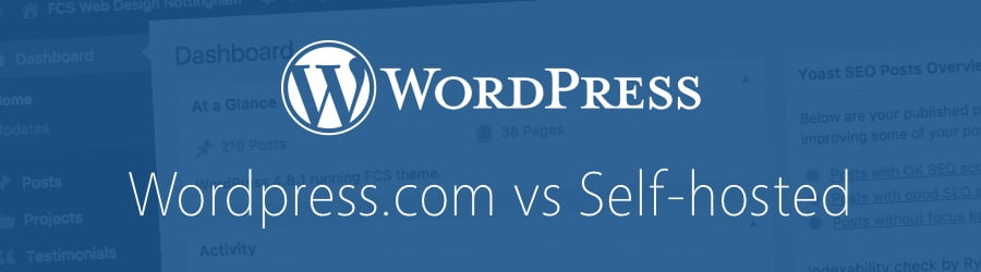 wordpress.com vs wordpress.org self-hosted