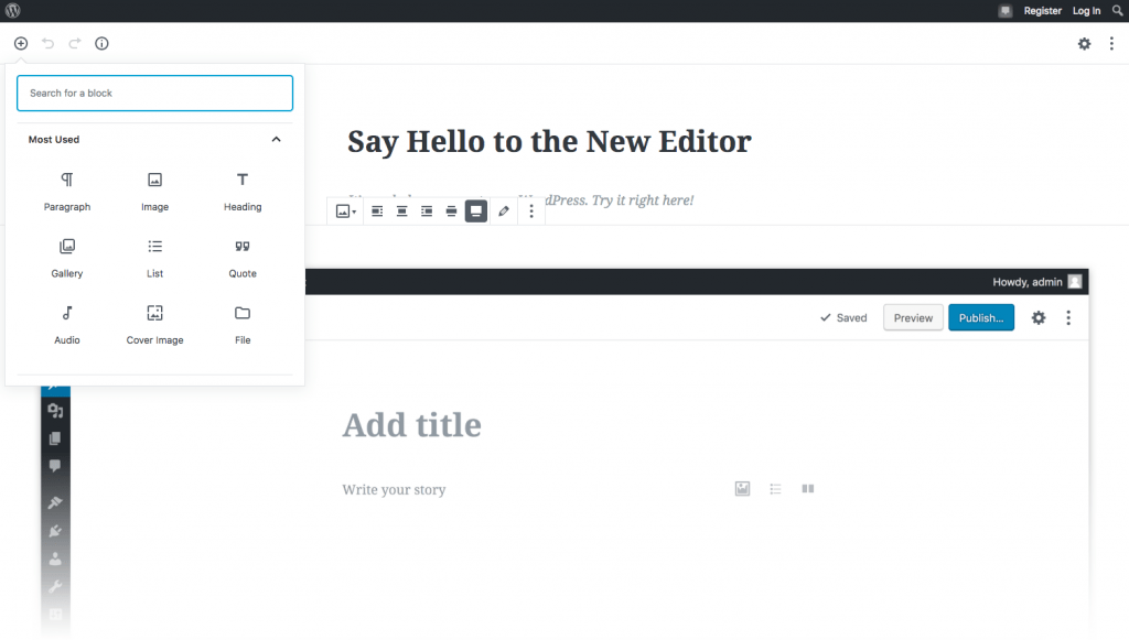 gutenberg-editor-for-wordpress